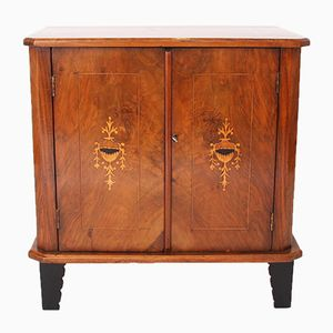 Antique Inlaid Cabinet