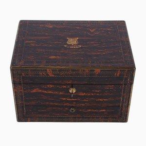 Caja para artículos de tocador de Asprey of London, década de 1900