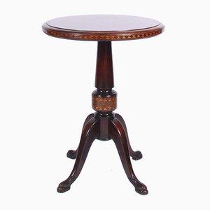 Table d'Appoint Vintage en Acajou