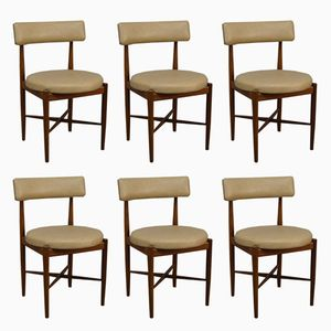 Mid-Century Fresco Dining Chairs by Victor Wilkins for G-Plan, Set of 6