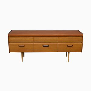 Mid-Century Teak Chest of Drawers from William Lawrence of Nottingham