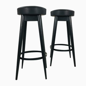 Tabourets de Bar, 1950s, Set de 2