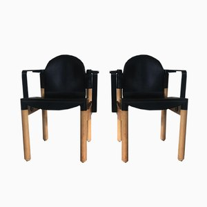Vintage Flex Armchairs by Gerd Lange for Thornet, Set of 2