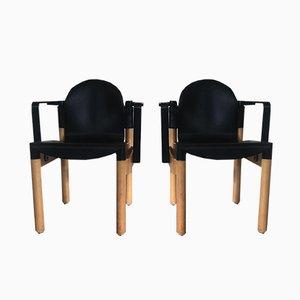 Vintage Flex Armlehnstühle von Gerd Lange für Thornet, 2er Set