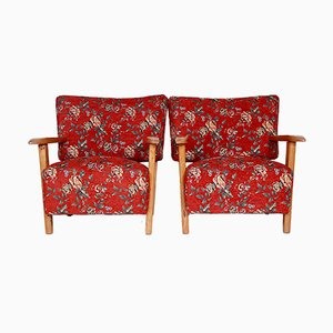 Armchairs by Hans J. Wegner, 1950s, Set of 2