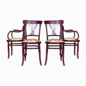 Austrian Chairs, 1890s, Set of 4