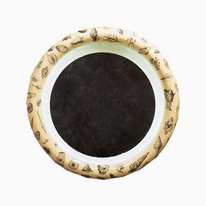 Specchio rotondo, anni '60