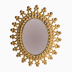 Spanish Oval Mirror