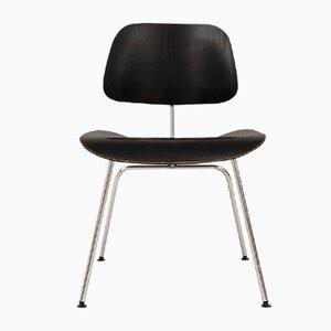 Sedia DCM vintage in compensato di Charles & Ray Eames per Herman Miller