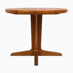Kleiner erweiterbarer Esstisch aus Teak, 1960er