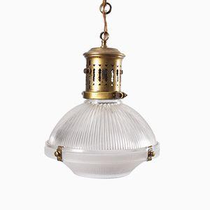 Lampes Mid-Century de Holophane, Set de 2