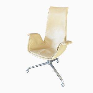 FK 6725 High-Back Tulip Desk Chair by Jørgen Kastholm & Preben Fabricius for Kill International