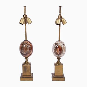 Vintage Table Lamps from Maison Charles, 1960s, Set of 2