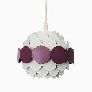 Lampe à Suspension Vintage en Métal de Doria, 1960s