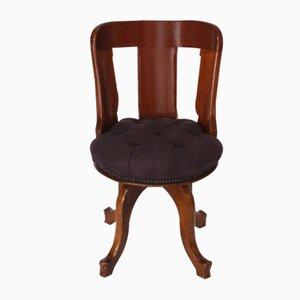 Antique Swivel Desk Chair