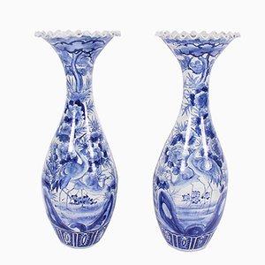 Groß dekorative Vase, 1900er, 2er Set
