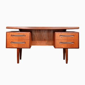 Mid-Century Danish Teak and Afromosia Desk by Kofod Larsen for G Plan