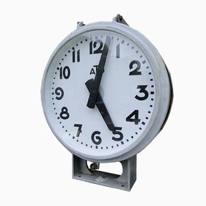 Industrielle Vintage Uhr von Ato, 1960er