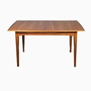 Mid-Century Teak and Walnut Extending Table by Alfred Cox