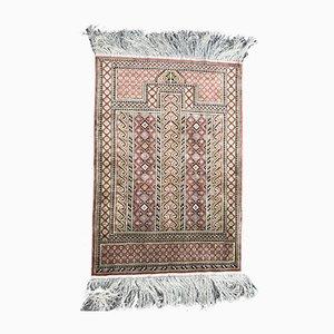 Alfombra turca vintage de seda
