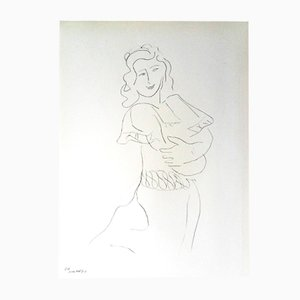 Dancer Lithograph by Henri Matisse, 1943