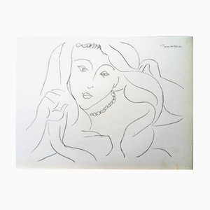 Woman Lithograph by Henri Matisse Lithograph, 1943