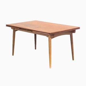 Tavolo da pranzo AT312 Mid-Century di Hans J. Wegner per Andreas Tuck