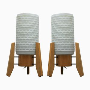Rocket Table Lamps, 1960s, Set of 2