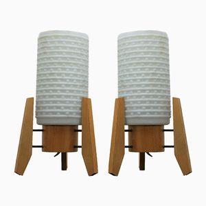 Tischlampen in Raketen-Optik, 1960er, 2er Set