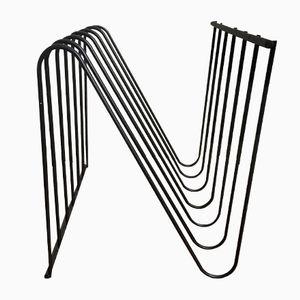 Modell Z Zeitschriftenständer von François Arnal für Atelier A, 1970er