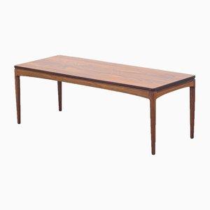 Mesa de centro extensible vintage de palisandro, años 50