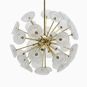 Lámpara de araña Sputnik de Kamenický Šenov, años 70