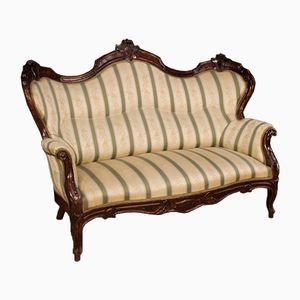Italienisches Sofa, 19. Jh.