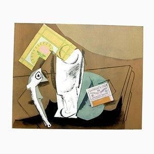 Nature Morte avec Pochoir Pipe par Pablo Picasso, 1962