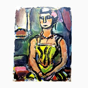 Lithograph by Georges Rouault, 1943