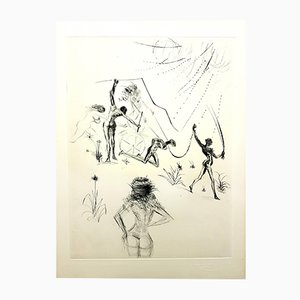 Venus in Furs Etching by Salvador Dalí­, 1968