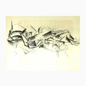 Estarcido cubista de Pablo Picasso para LEDA Editions, 1962