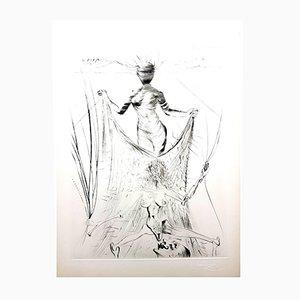 Venus in Furs Radierung von Salvador Dali, 1968