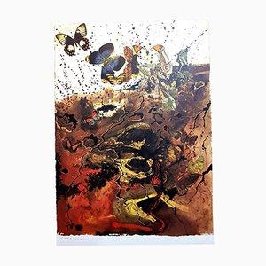 Litografia Butterfly suite di Salvador Dali, 1969