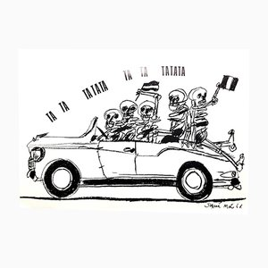 Póster francés de Mayo del 68 de Tchou Editions, 1968