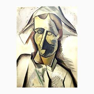 Pochoir par Pablo Picasso pour LEDA Editions, 1962