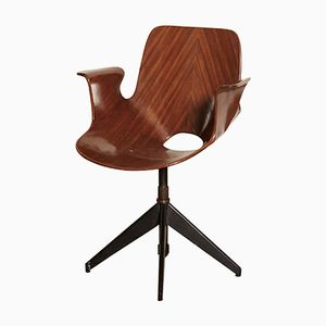 Desk Chair Vittorio Nobili for Fratelli Tagliabue, 1950s