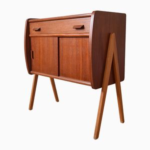 Mid-Century Danish Teak Cabinet by Poul Volther
