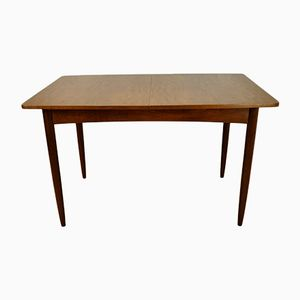 Vintage Extendable Dining Table in Teak, 1960s