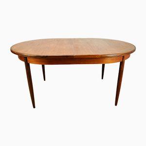 Tavolo da pranzo allungabile in teak di G-Plan, anni '60