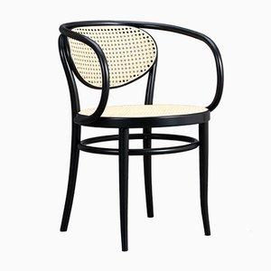 Modell 210R Stuhl aus Bugholz von Michael Thonet für Thonet, 1985