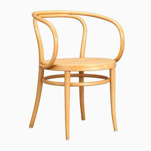 Beech Model 209 Chair by Michael Thonet for Thonet, 1987