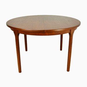 Tavolo da pranzo allungabile di Mcintosh, anni '60