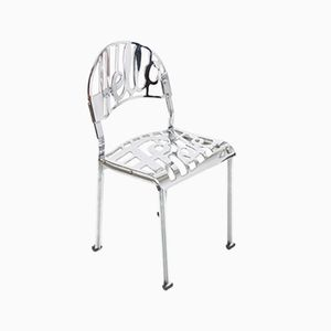 Vintage Hello There Chrome-plated Chair by Jeremy Harvey for Artifort