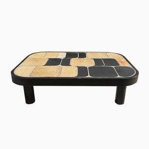 Ceramic Shogun Coffee Table by Roger Capron, 1970s